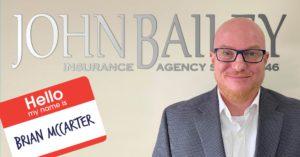 John Bailey welcomes Brian McCarter